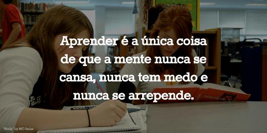 10 Frases De Motivação Para Estudar Estudar E Aprender