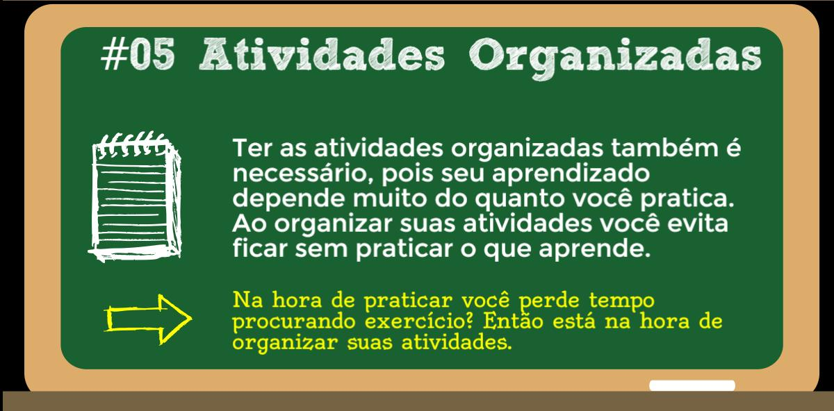 organizar-atividades-estudar